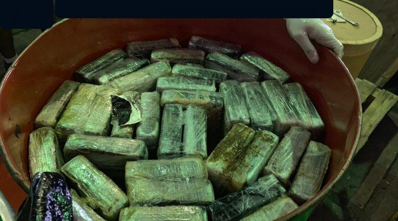 Receita Federal apreendeu 353 kg de cocaína no Porto de Santos