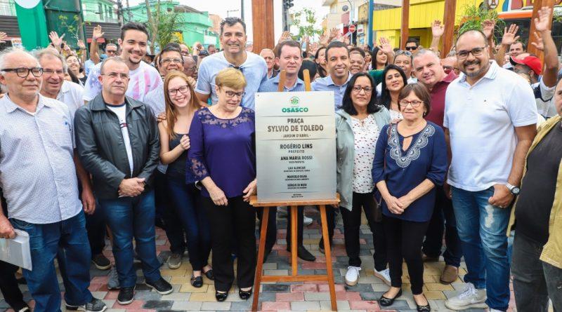 Osasco ganha mais uma praça revitalizada no Jardim D'Abril