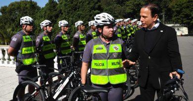 PM terá 100 bicicletas elétricas para reforçar o policiamento na Capital