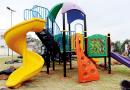 Prefeitura de Jandira instala quatro playgrounds e faz a alegria das crianças