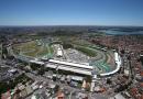 Chegue de helicoptero no GP Brasil de Fórmula 1