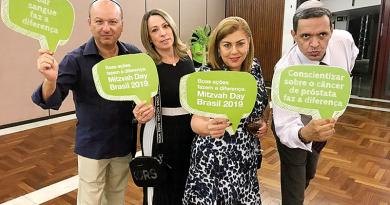 Foi dada a largada para o Mitzvah Day Brasil