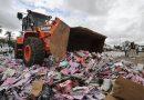 Mutirão Nacional destrói mais de 4 mil toneladas de mercadorias apreendidas