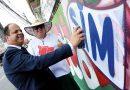 Legislativo de Osasco ganha mural em grafite do artista Dingos Del Barcos