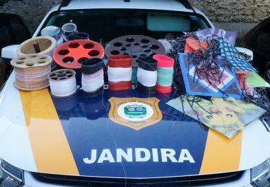 Operação Cerol recolhe aproximadamente 300 materiais com cortantes em Jandira