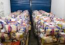Osasco recebe doação de 13 toneladas de alimentos
