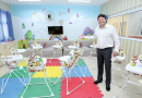 Prefeito Elvis Cezar inaugura colégio Sr. Gabrielle D'Alessandro no Rancho Alegre