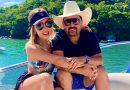 Sertanejo Edson e a esposa, Deia Cypri, curtem viagem com amigos em Balneário Camboriú