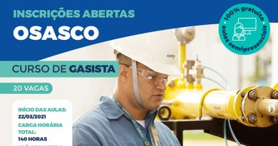 Fatec Osasco abre 40 vagas para curso de gasista em parceria com a Comgás