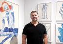 O artista plástico e escultor Gray Portela