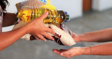 Mais de 200 farmácias no Estado viram pontos de arrecadação de alimentos e itens de higiene